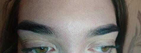 Henna brwi z depilacją woskiem